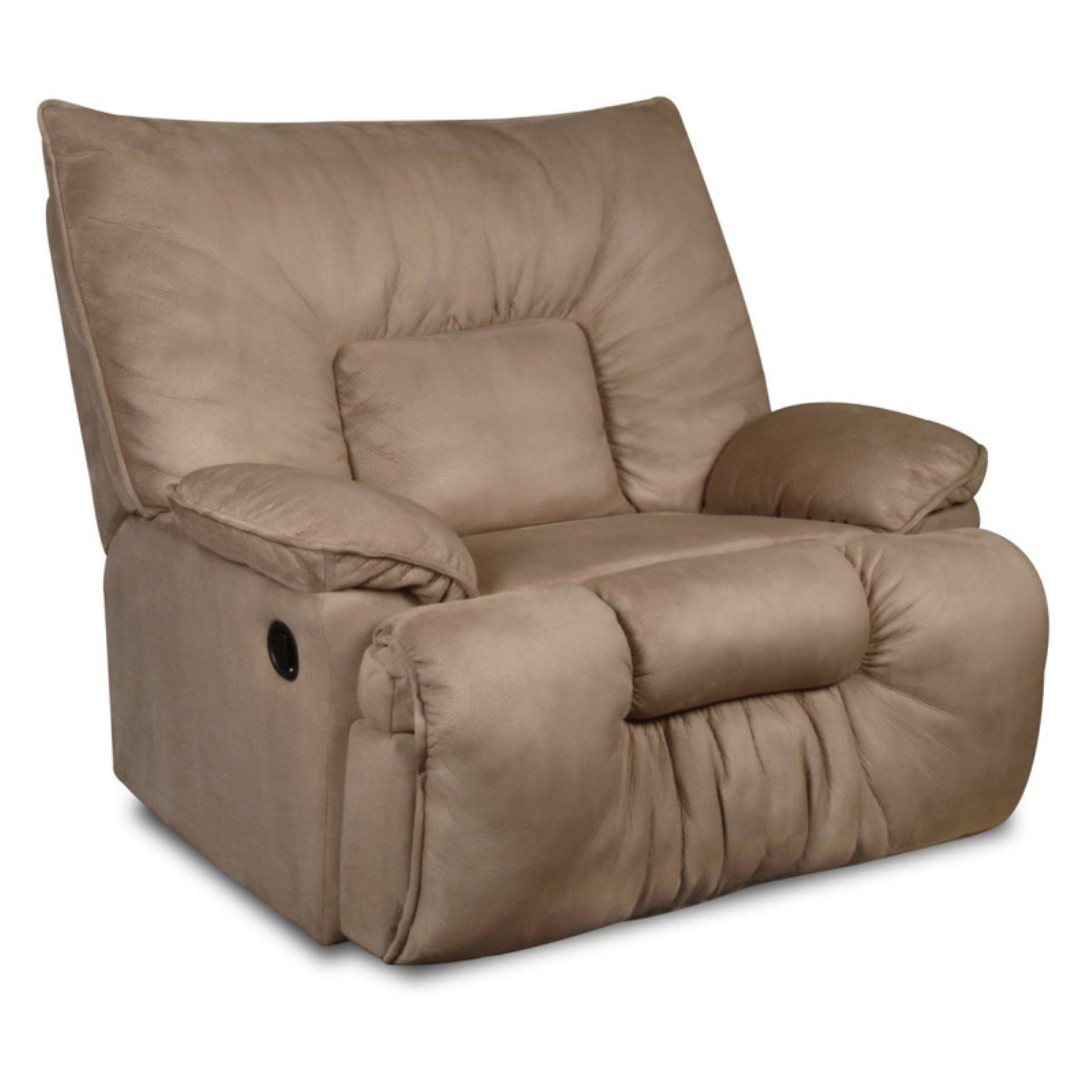 United Furniture Simmons Jaguar Cuddler Microfiber Recliner