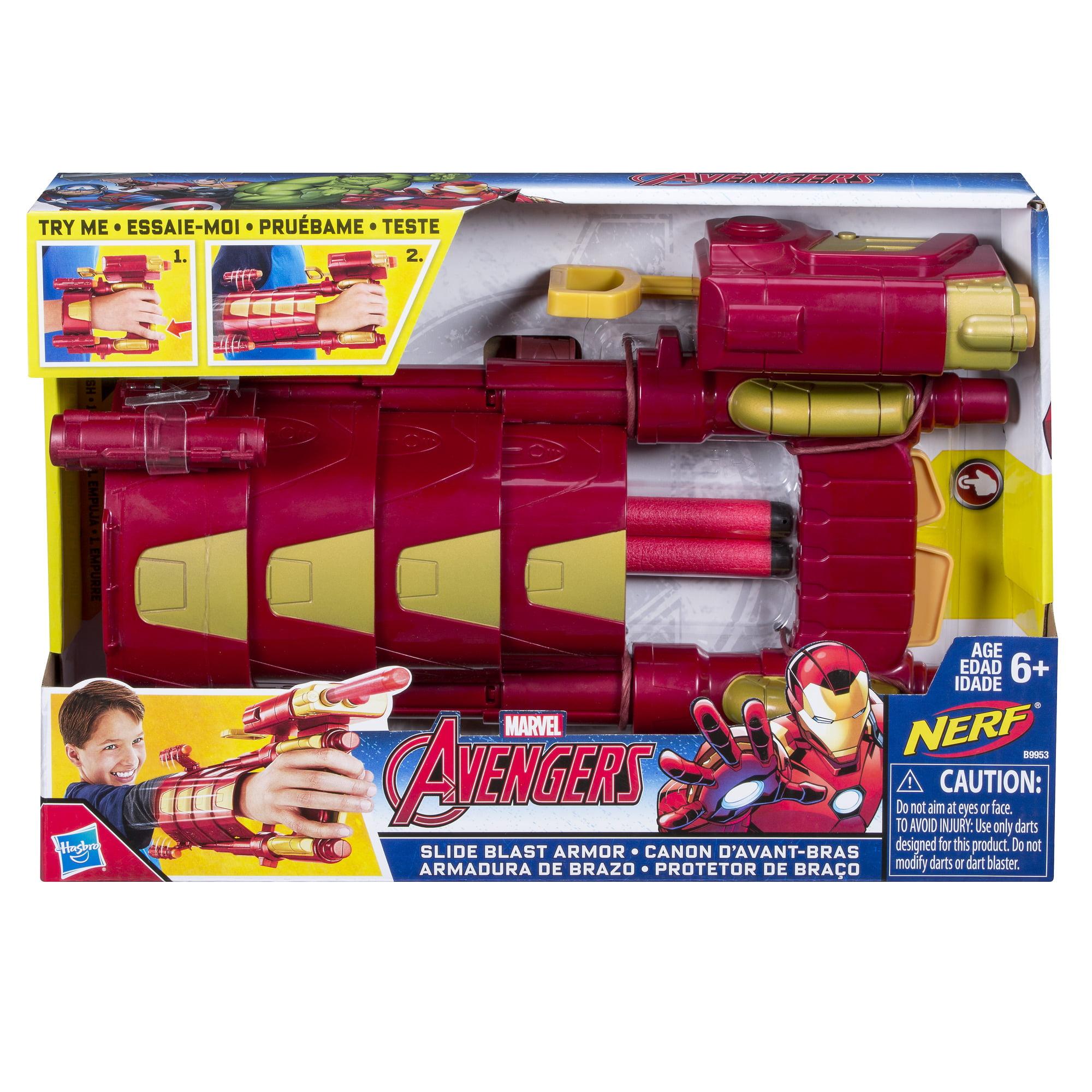 Marvel Iron Man Slide Blast Armor
