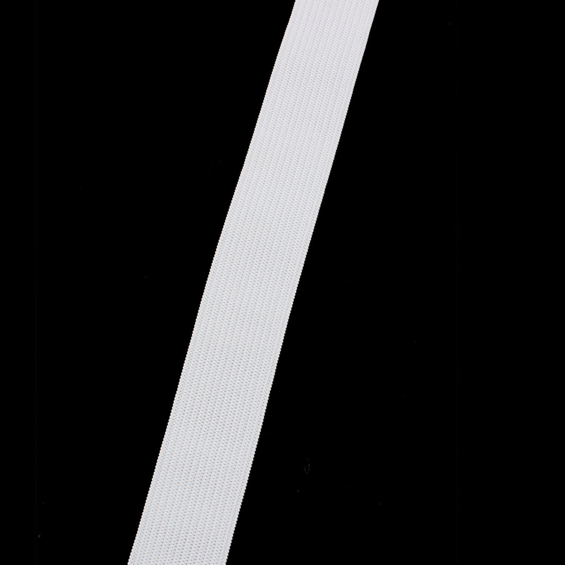 Clothes Trousers Pants Skirt Polyester Elastic Band String White 12M Length 2pcs - image 1 of 3