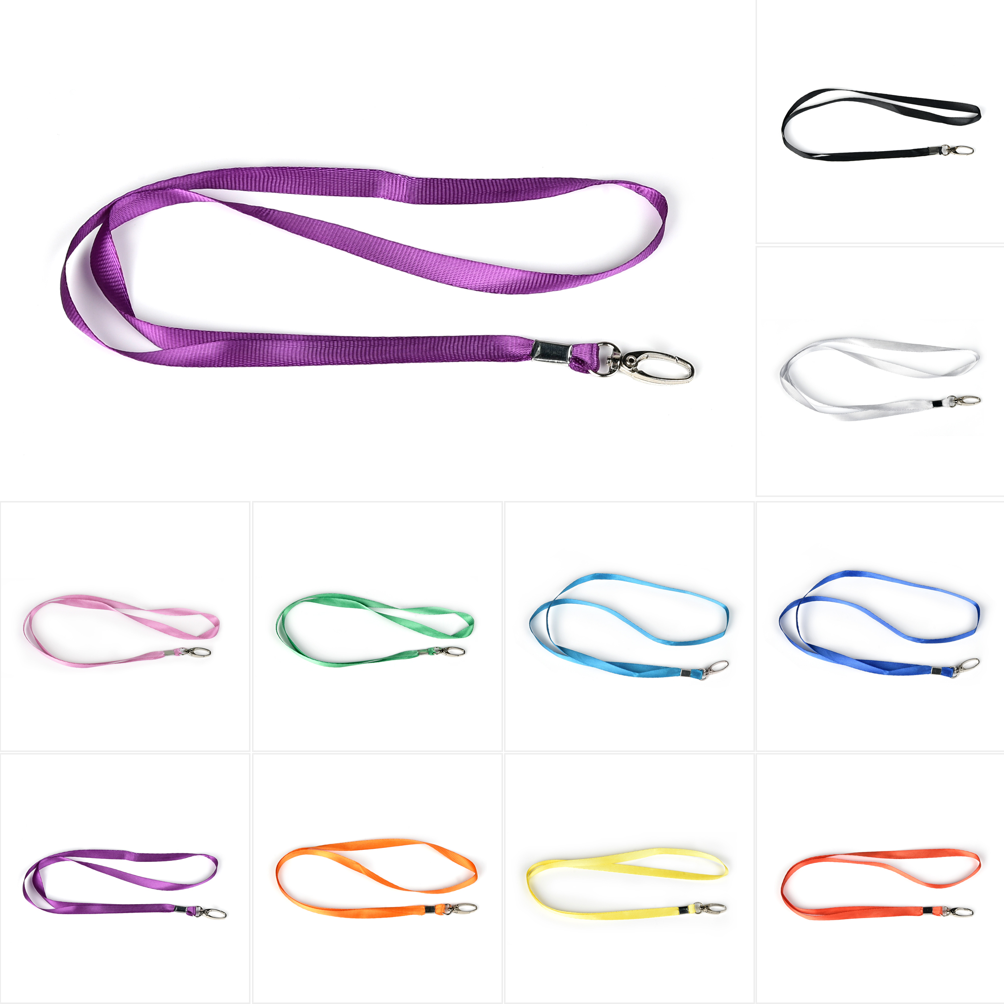 CUH Lanyards Neck ID Name Tag Straps Work Credit Card Badge Holder Lanyard Neck Strap Ideal for Name Tags, Trade Shows, ID Badge,Champion, Tours, and Events