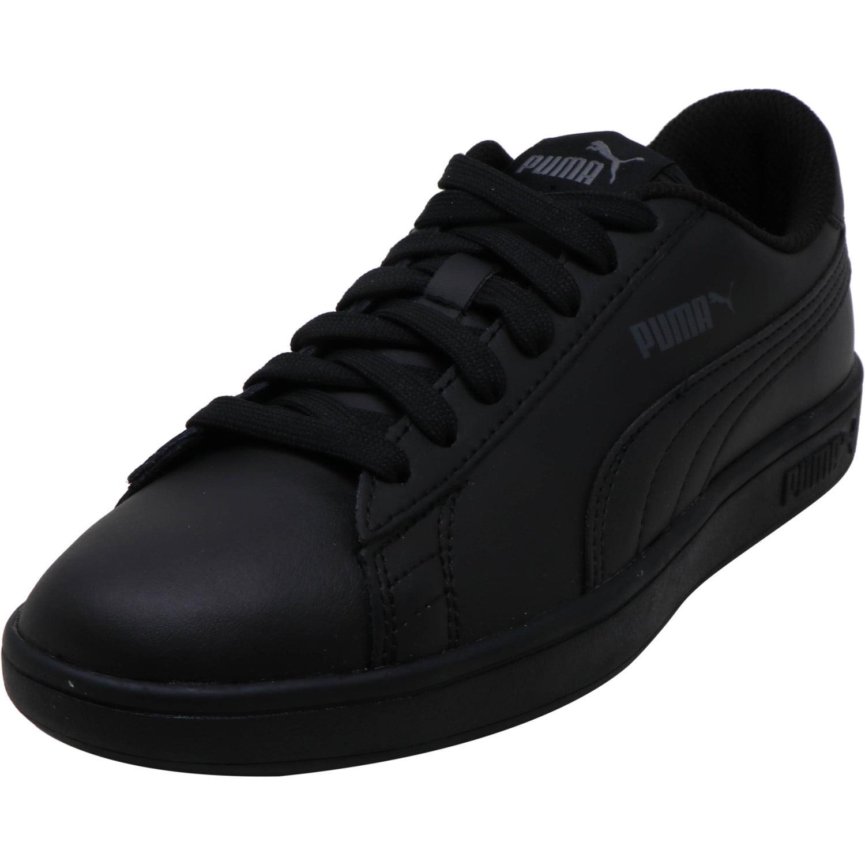 PUMA - Puma Smash V2 L Fashion Sneaker - 5.5M - Puma Black ...