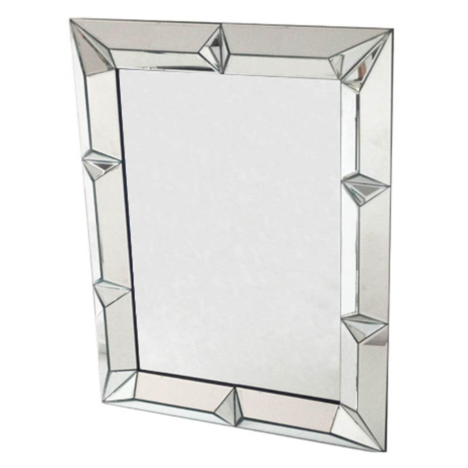 Fine Mod Imports FMI10122 Square Mirror by Fine Mod Imports