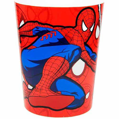 marvel spiderman sense acrylic wastebasket - walmart