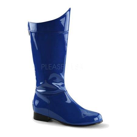 e4623ba8fa3 Funtasma Men's Hero 100 Engineer Boot, Blue Patent, Medium/10-11 M Us
