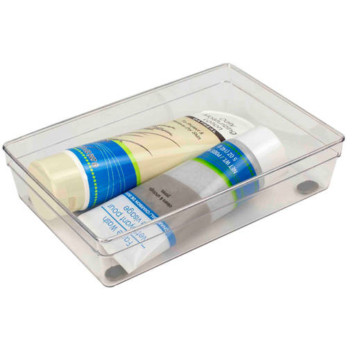 Home Basics Plastic Drawer Organizer