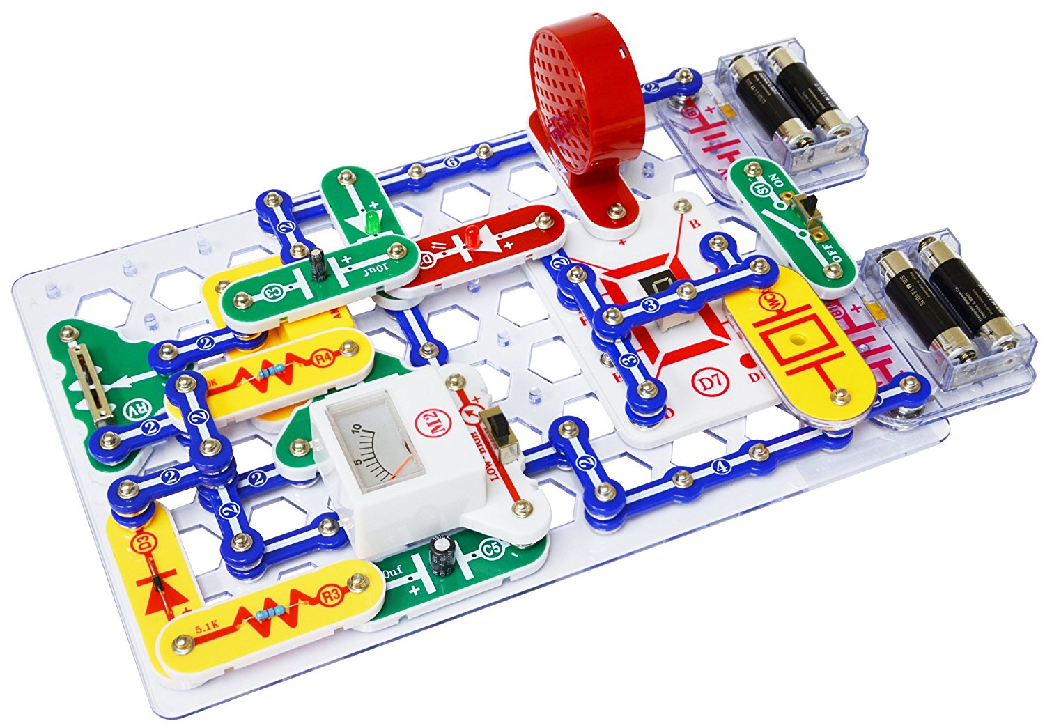 Snap Circuits PRO SC-500 Electronics Discovery Kit, USA, Brand ...