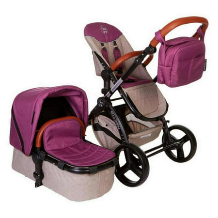 Pink Deluxe Stroller System - Limited -