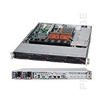 Super Micro SuperChassis CSE-815TQ-R700UB, Black 1U SC815...
