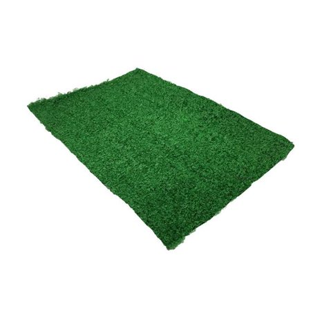 5 Star Super Deals 2040666 14 x 10 in. Replacement Synthetic Grass for Large Dog Potty Patch Pad