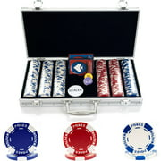 Trademark Poker 300 11.5g Holdem Poker Chip Set With Aluminum Case