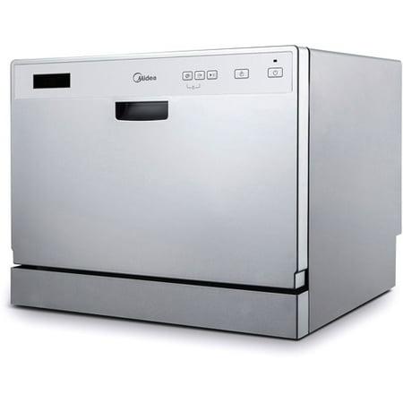 Countertop Dishwasher Best Buy : Midea 6-Place Setting Countertop Dishwasher - Best Dishwashers