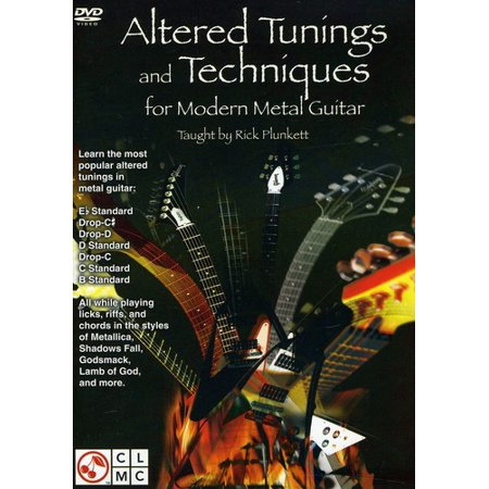 - Alternate Tunings and Techniques for Modern Metal Guitar (DVD)