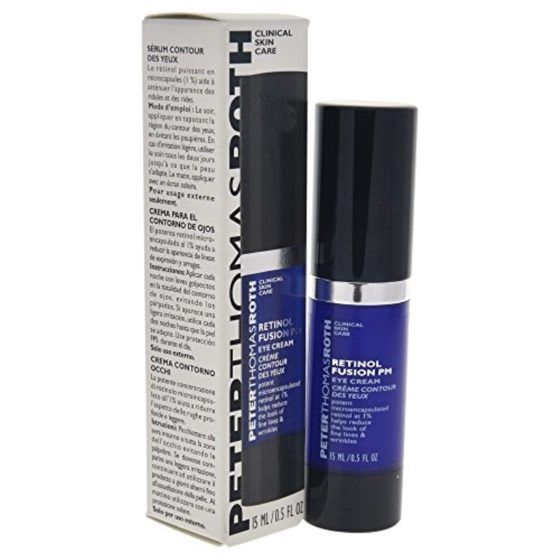 Peter Thomas Roth Retinol Fusion PM Eye Cream, 0.5 Ounce