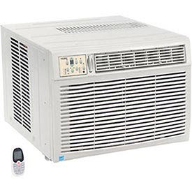 500 Base Unit - 230/208V Window Air Conditioner with Heat, 18, 500 BTU Cool, 16, 000 BTU Heat, Lot of 1