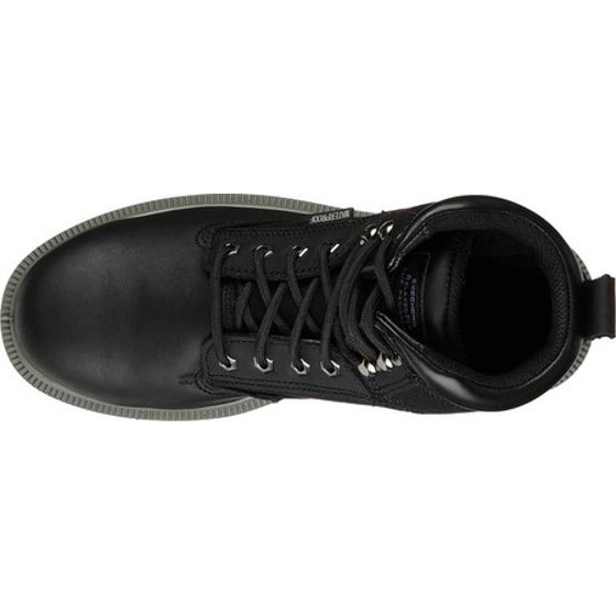 454eb9528cd Men's Skechers Work Relaxed Fit Makanix Mennot Steel Toe Boot