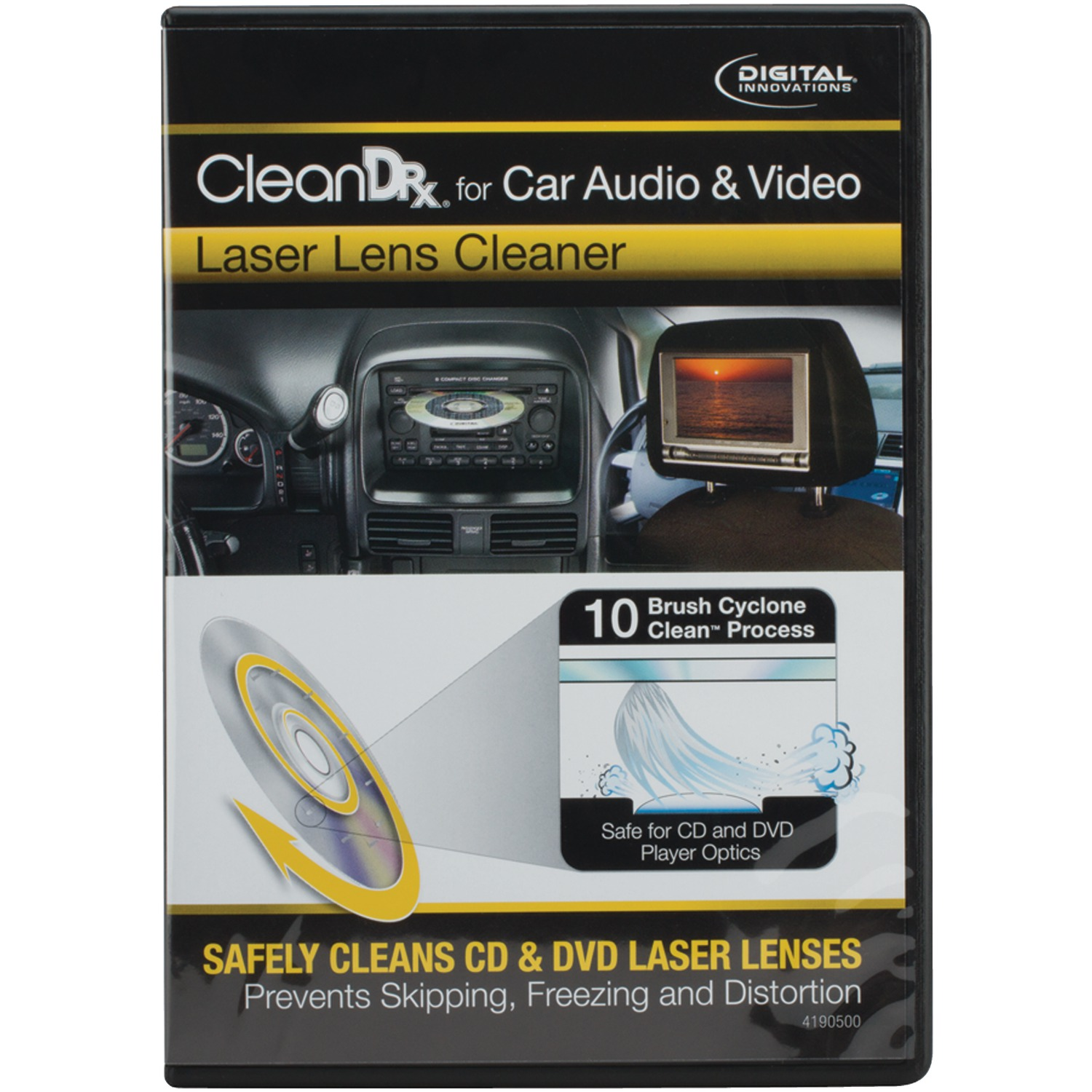Digital Innovations 41905 Cleandr Car A/v Laser Lens Cleaner