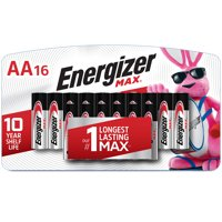 Energizer MAX AA Batteries, Alkaline Double A Batteries (16 Pack)