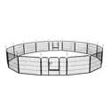 "SmileMart 24""H Heavy Duty 16 Panel Dog Playpen"