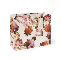 Mara-Mi Painterly Floral Large Gift Bag