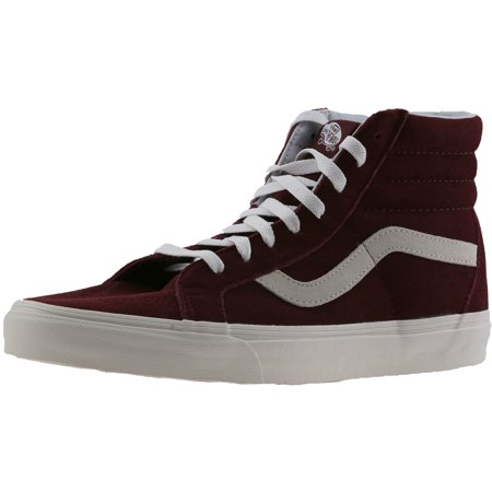 5e507a343b Vans Sk8-Hi Reissue Vintage Windsor Wine   Blanc High-Top Suede  Skateboarding Shoe