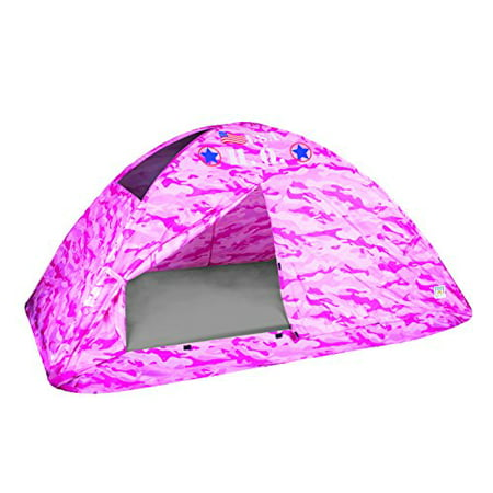 Pacific Play Tents Kids Pink Camo Bed Tent Playhouse - Twin Size - image 4 de 4