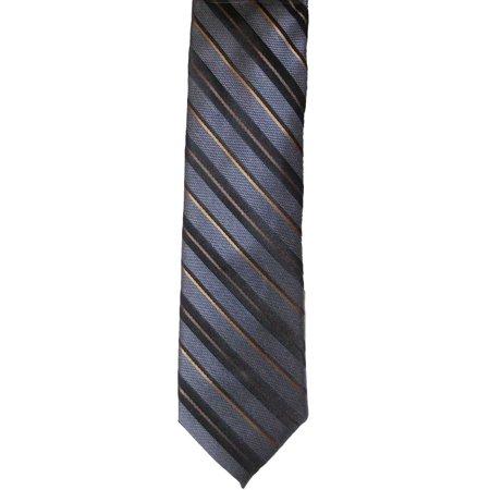Apt. 9 Men Extra Slim Mantle Gray Striped Tie