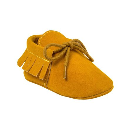 d2eddea144cb0 Lavaport - Lavaport Newborn Baby Boy Girl Moccasins Shoes Fringe Soft Soled  Non-slip Footwear Crib Shoes PU Suede Leather First Walker Shoes -  Walmart.com