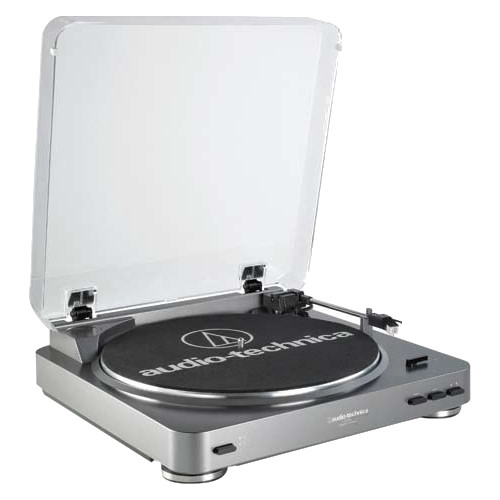 Audio-Technica AT-LP60 Fully Automatic Stereo Turntable System Black AT-LP60BK by Audio-Technica