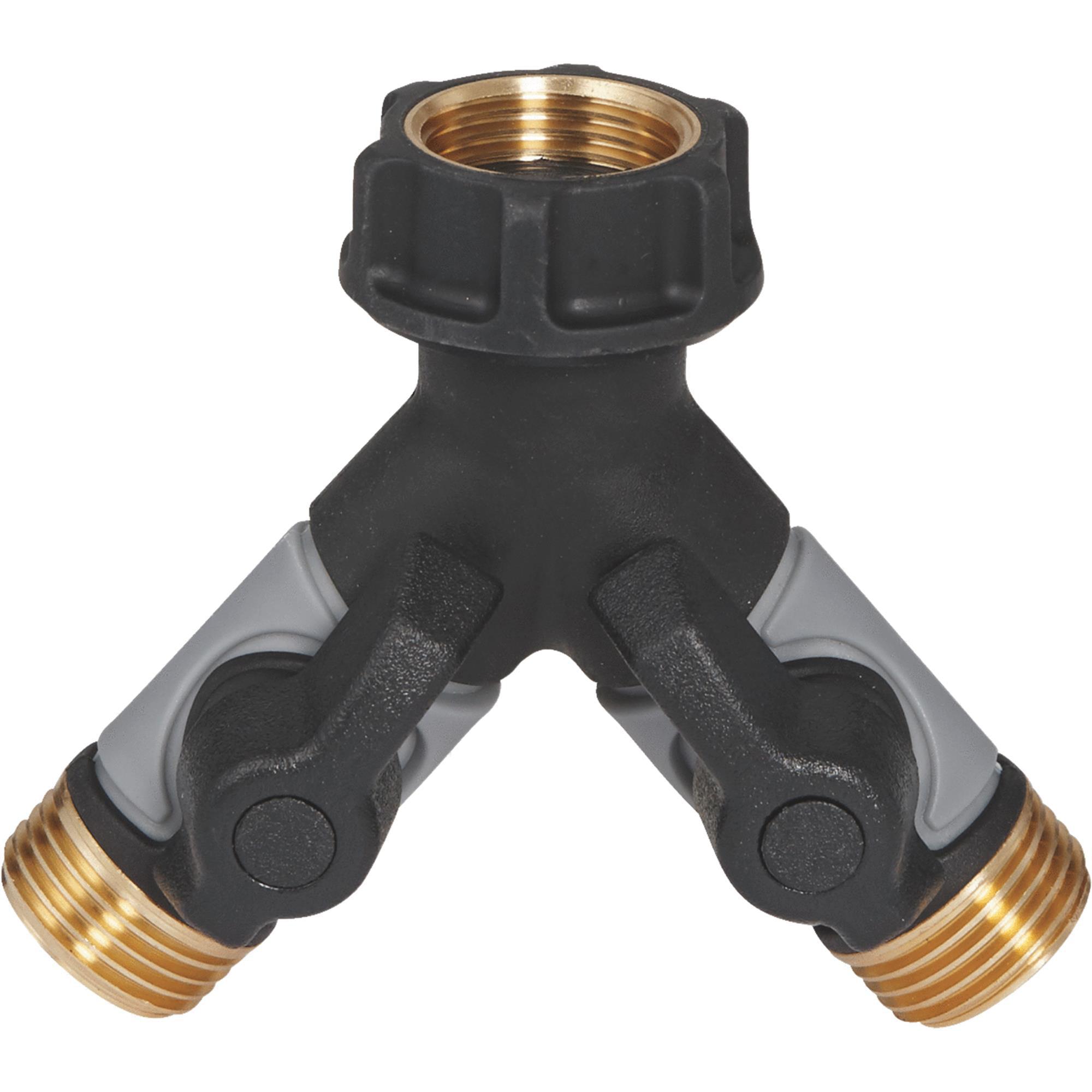 Orbit 56389 Pro Flo Metal Hose Y with Shut-Offs