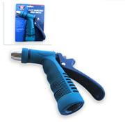 "5.5"" Adjustable Insulated Grip Garden Hose Water Spray Nozzle End Sprayer"