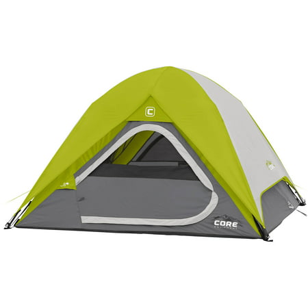 Core Equipment 7' x 7' Instant Dome Tent, Sleeps
