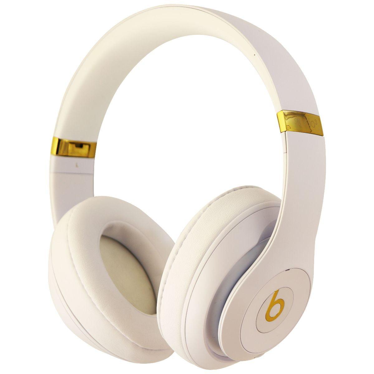 Beats Studio3 Wireless Series Over Ear Headphones Matte White Gold Mq572ll A Refurbished Walmart Com Walmart Com