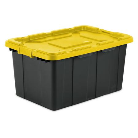 Sterilite, 27 Gal./102 L Industrial Tote, Yellow -