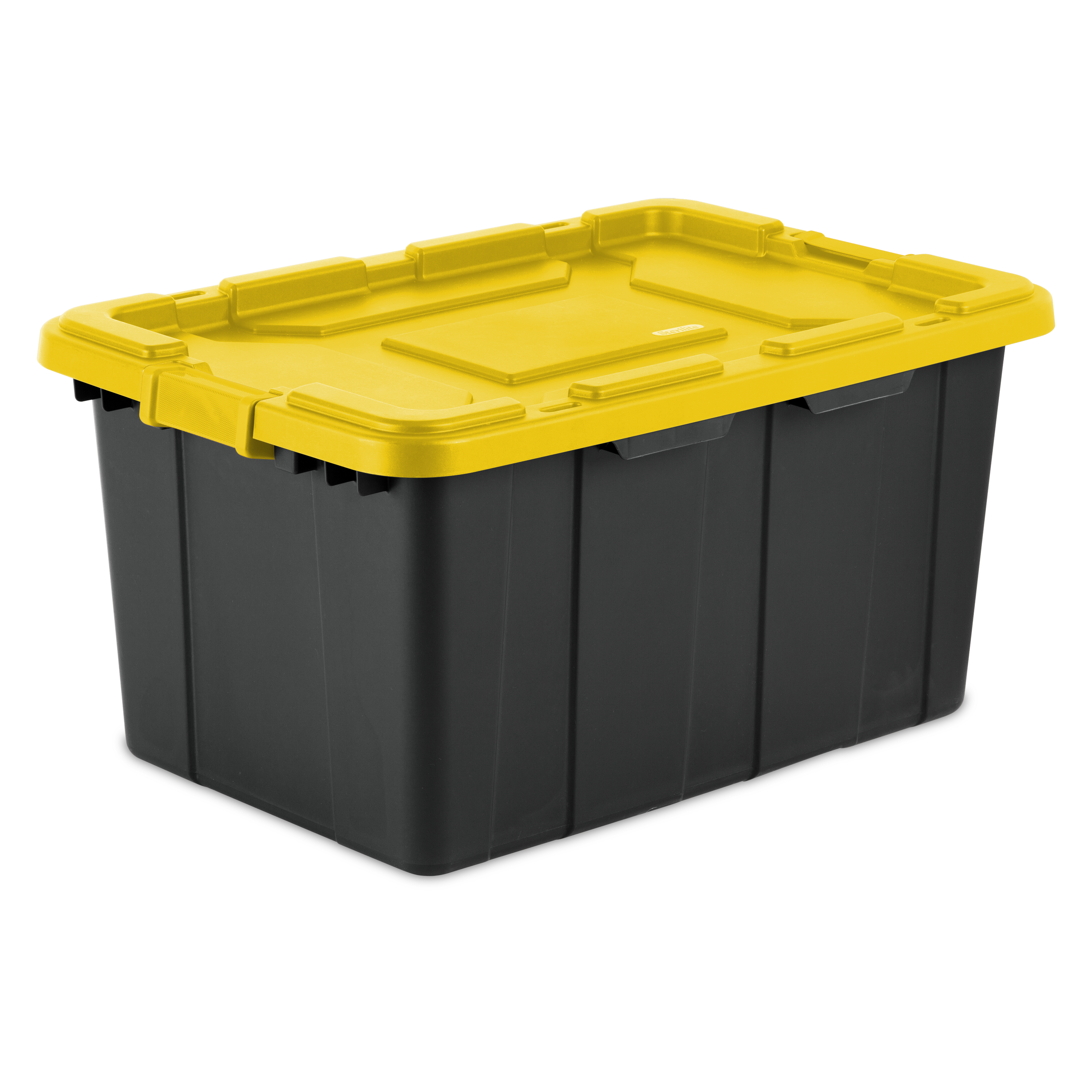 Sterilite, 27 Gal./102 L Industrial Tote, Yellow Lily