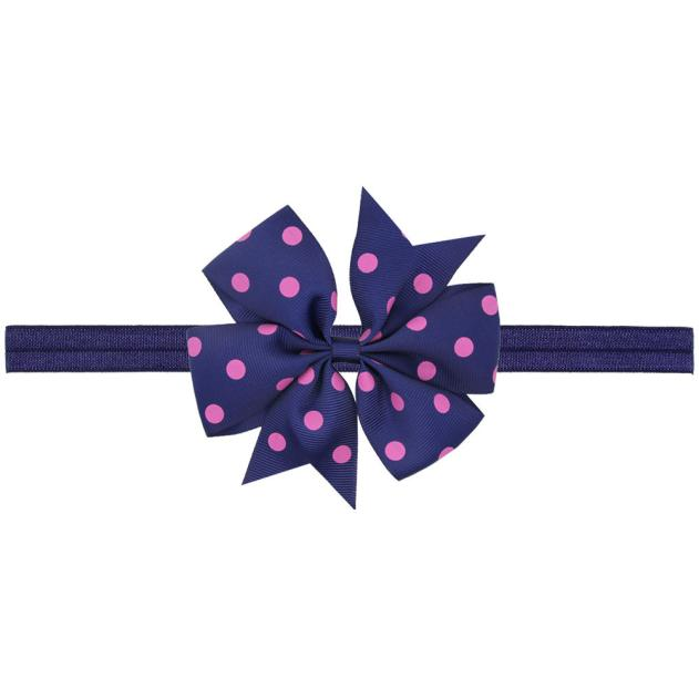 Outtop Baby Kids Girls Bowknot Hairband Elastic Headband NY