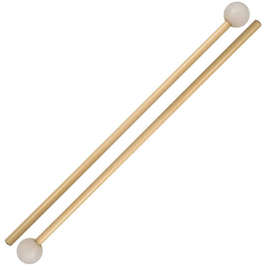 Vic Firth M138 Orchestral Series Medium Poly Xylophone Mallets w  Rattan Handles by Vic Firth