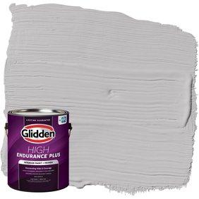 Glidden High Endurance Plus Grab N Go Flat Interior Paint Primer Granite Gray 1 Gallon Walmart Com Walmart Com