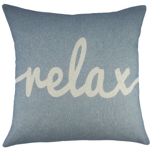 TheWatsonShop Relax Cotton Throw Pillow