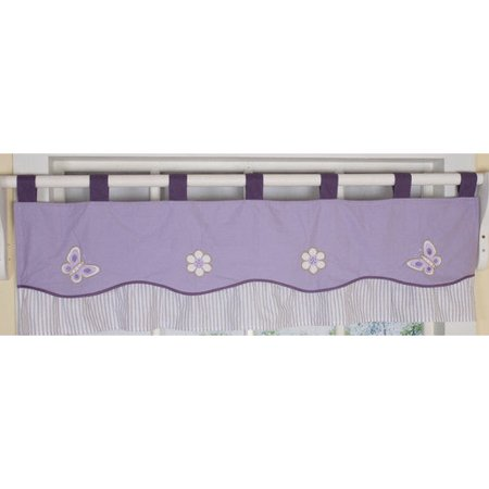 Geenny CF-203 Butterfly Valance Nursery Window Treatment
