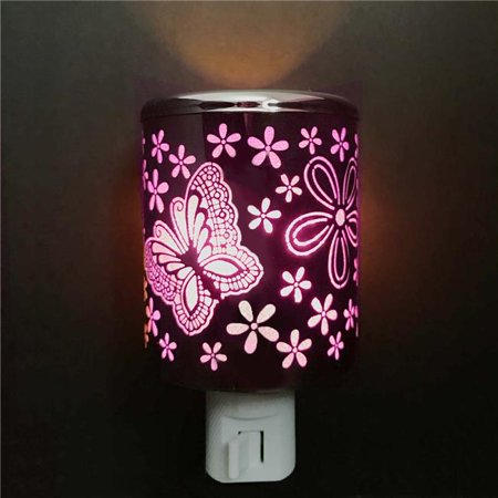 ACE NL 1076 Aluminum Crafted LED Night Light - Butterfly