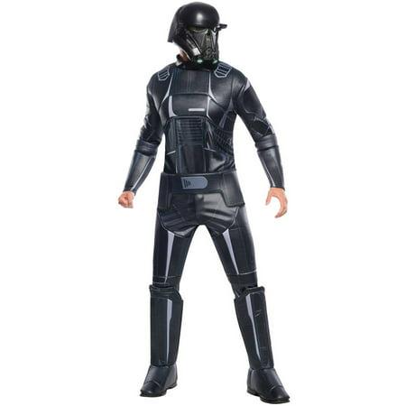 death trooper deluxe mens adult halloween costume - Halloween Costume Death