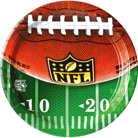 NFL Drive Football Party Tableware 10.5