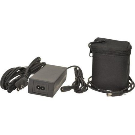 Bescor Extended Battery & Automatic Charger for Black Magic Design Cinema Camera ()