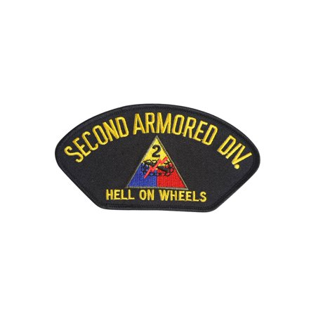 Wheels Patch - United States Army 2nd Armored Division Hell on Wheels Patch