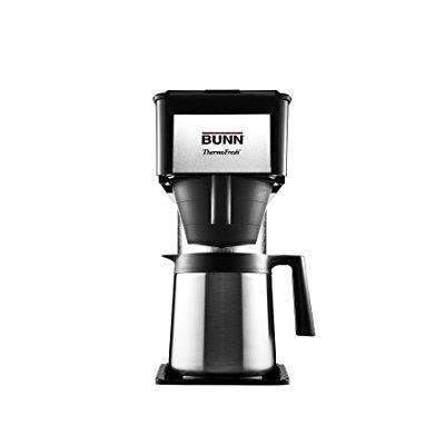bunn btx-b(d) thermofresh high altitude 10-cup home thermal carafe coffee brewer, black ()