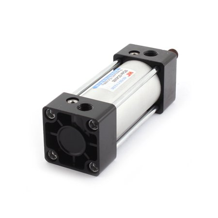 Unique Bargains SC 40mm x 50mm 0.15-08MPa Single Rod Double Acting Pneumatic Air Cylinder - image 1 of 2