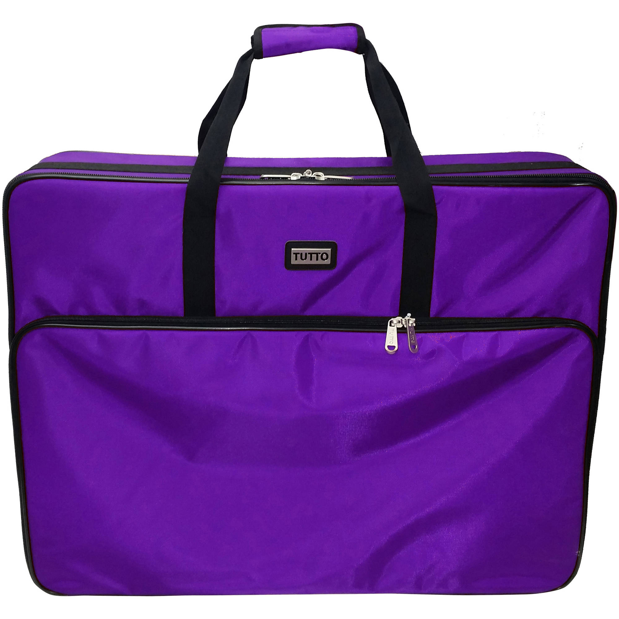 "TUTTO 28"" Embroidery Project Bag, Purple"