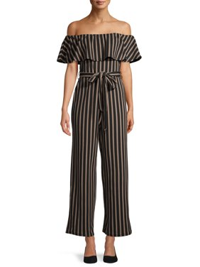 Almost Famous Junior?s Cami Paperbag Jumpsuit