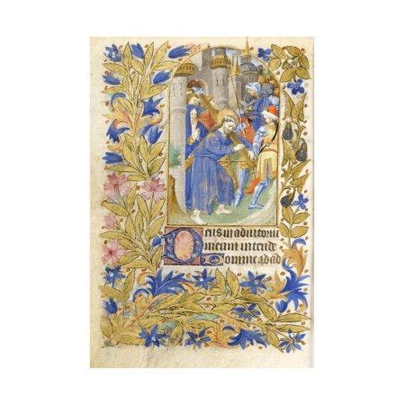 Christ Carrying the Cross, 1464 Print Wall Art