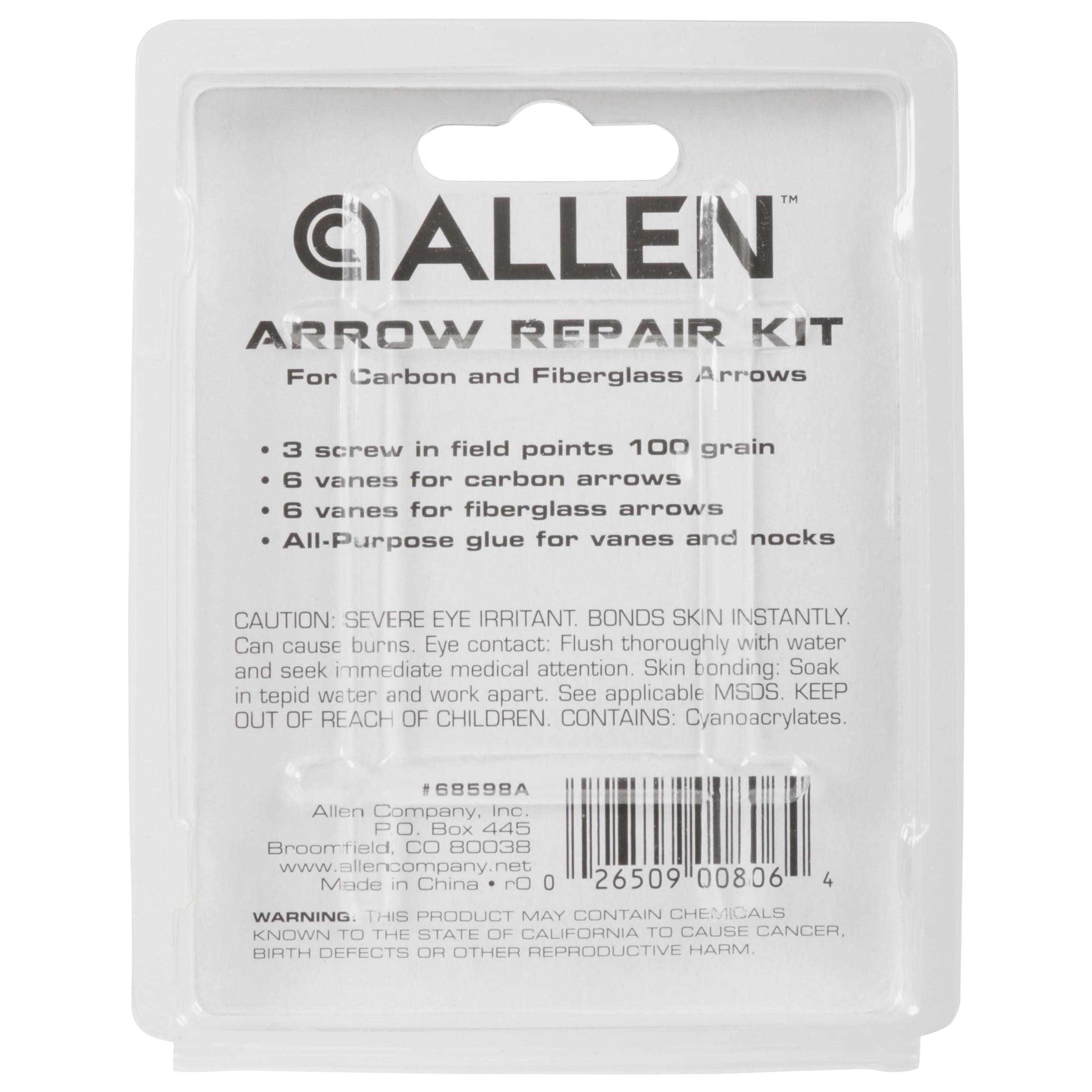 Allen Arrow Repair Kit For Carbon or Fiberglass Arrows